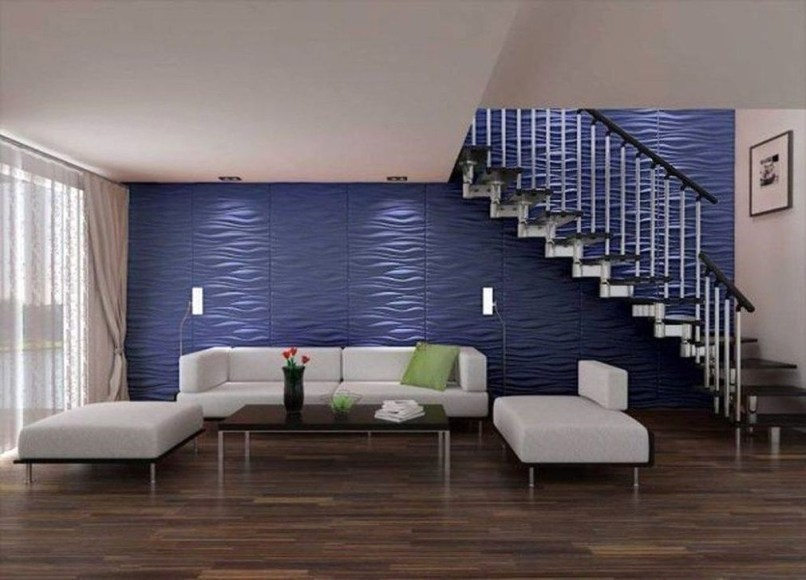 Perfect 3D Wallpapaer Design Ideas For Living Room 35