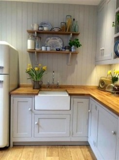 Pretty Cottage Kitchen Design And Decor Ideas 19