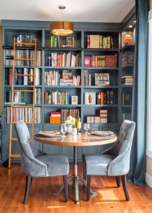 Wonderful Home Library Design Ideas To Make Your Home Look Fantastic 12