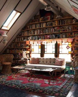 Wonderful Home Library Design Ideas To Make Your Home Look Fantastic 26