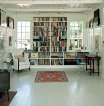 Wonderful Home Library Design Ideas To Make Your Home Look Fantastic 35