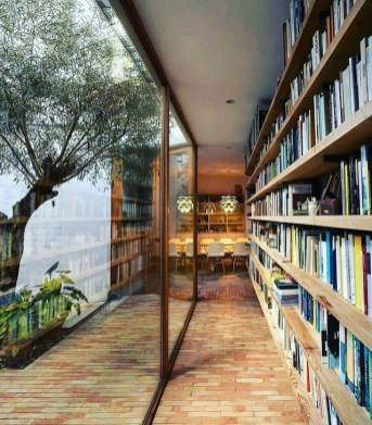 Wonderful Home Library Design Ideas To Make Your Home Look Fantastic 44