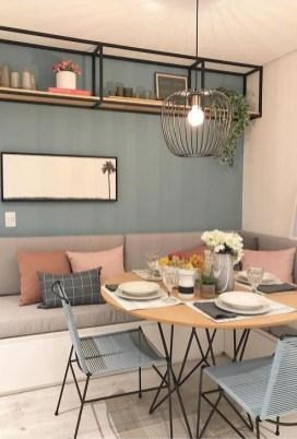 Adorable Summer Dining Room Design Ideas 09