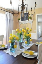 Adorable Summer Dining Room Design Ideas 25