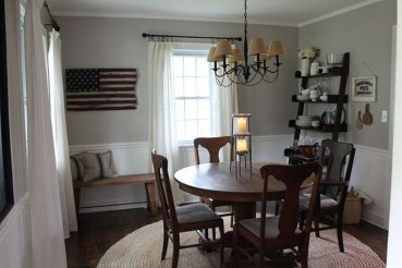 Adorable Summer Dining Room Design Ideas 28