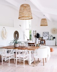 Adorable Summer Dining Room Design Ideas 37