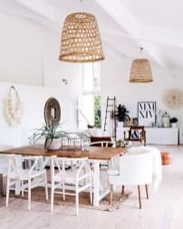 Adorable Summer Dining Room Design Ideas 37