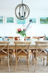 Adorable Summer Dining Room Design Ideas 42