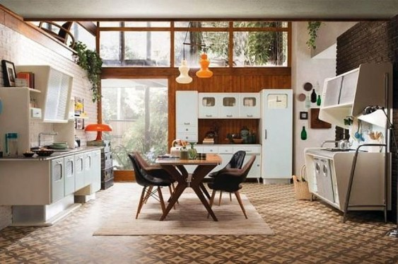 Affordable Retro Style Ideas For Your Interior Design 30