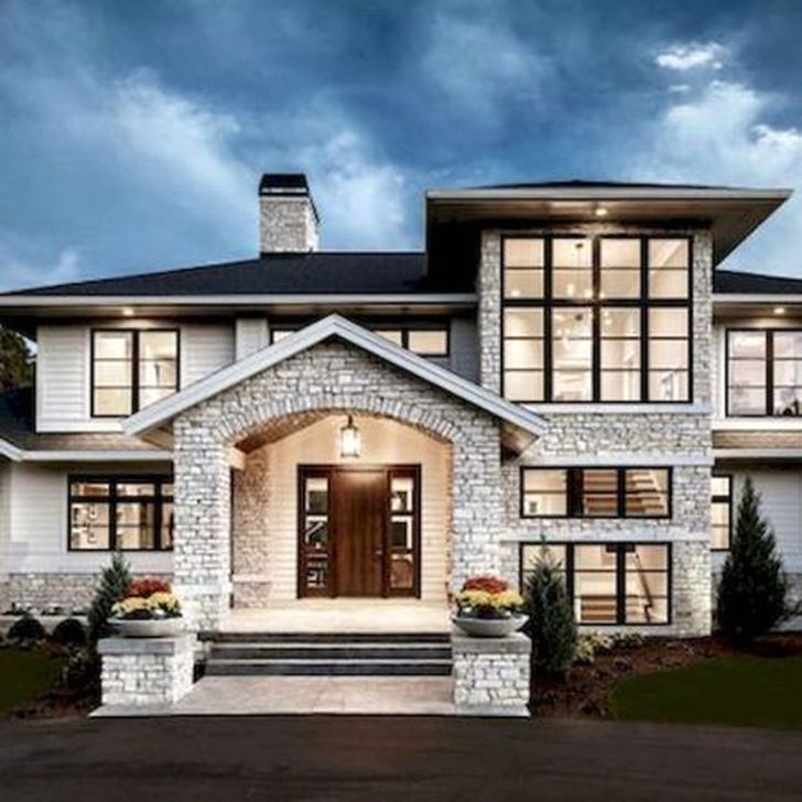 55 Best Home Decor Ideas: 55 Awesome Home Exterior Design Ideas