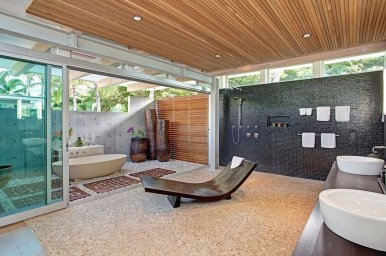 Best Ideas For Outdoor Bathroom Design 14