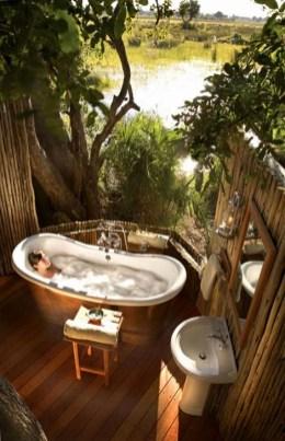 Best Ideas For Outdoor Bathroom Design 46