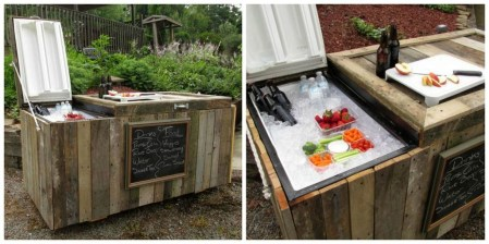 Cheap And Easy DIY Outdoor Bars Ideas 12