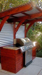 Cheap And Easy DIY Outdoor Bars Ideas 17