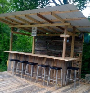 Cheap And Easy DIY Outdoor Bars Ideas 20