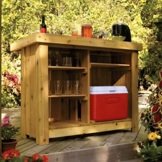Cheap And Easy DIY Outdoor Bars Ideas 30