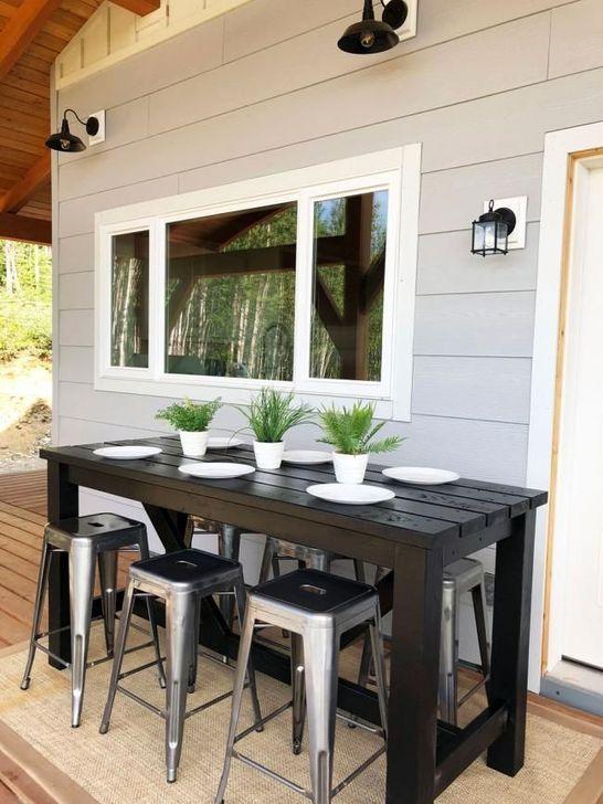 Cheap And Easy DIY Outdoor Bars Ideas 36