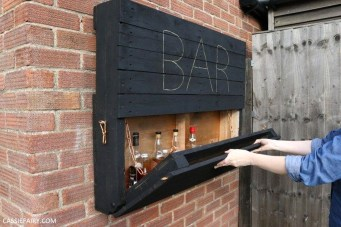 Cheap And Easy DIY Outdoor Bars Ideas 43