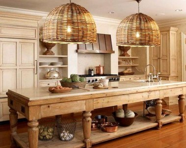 Classy Wooden Kitchen Island Ideas For Your Kitchen 02