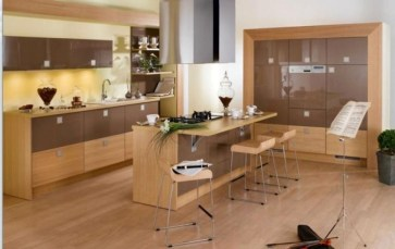 Classy Wooden Kitchen Island Ideas For Your Kitchen 16