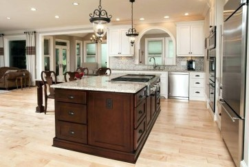 Classy Wooden Kitchen Island Ideas For Your Kitchen 22