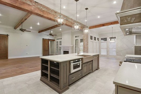 Classy Wooden Kitchen Island Ideas For Your Kitchen 26