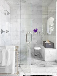 Comfy Bathroom Design Ideas With Shower Concept 31