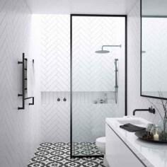 Comfy Bathroom Design Ideas With Shower Concept 40