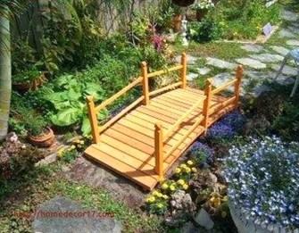 Cool Garden Bridge Ideas You Will Totally Love 19