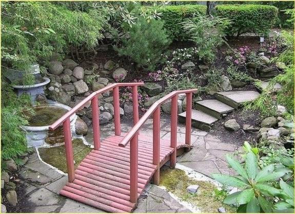 Cool Garden Bridge Ideas You Will Totally Love 24