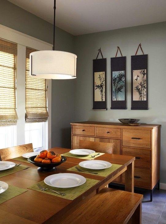 Cozy Asian Dining Room Design Ideas 40