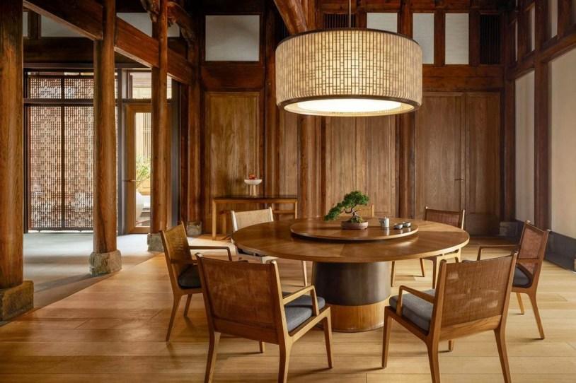 Cozy Asian Dining Room Design Ideas 47