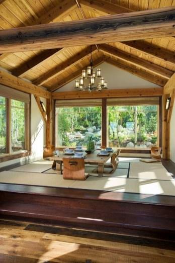 Cozy Asian Dining Room Design Ideas 54