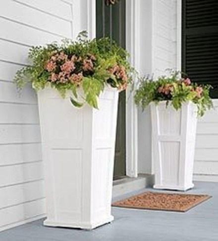 Creative Front Door Flowers Pot Ideas 03