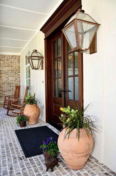 Creative Front Door Flowers Pot Ideas 09