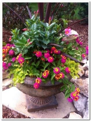 Creative Front Door Flowers Pot Ideas 12