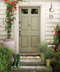 Creative Front Door Flowers Pot Ideas 13