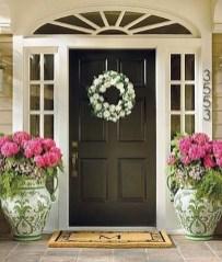 Creative Front Door Flowers Pot Ideas 15