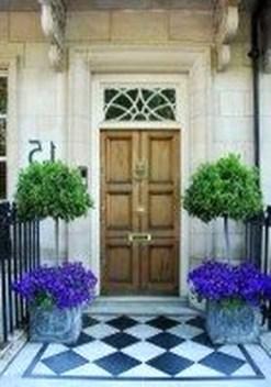 Creative Front Door Flowers Pot Ideas 18