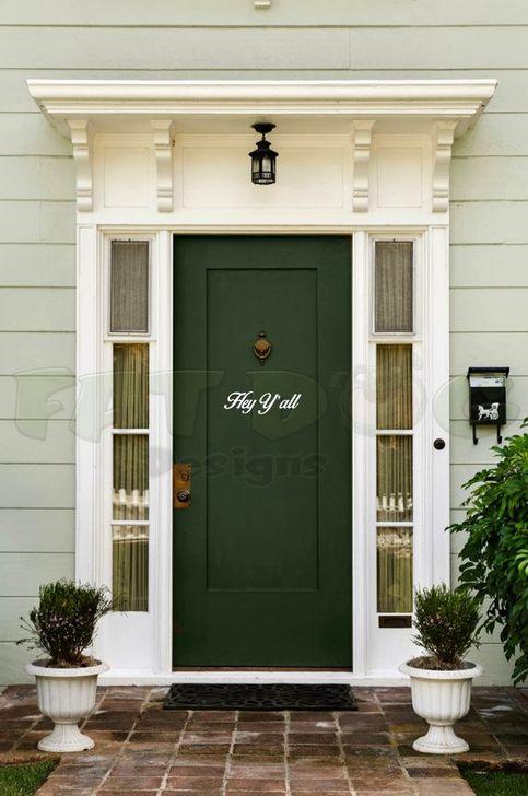 Creative Front Door Flowers Pot Ideas 26