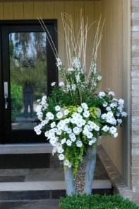 Creative Front Door Flowers Pot Ideas 28