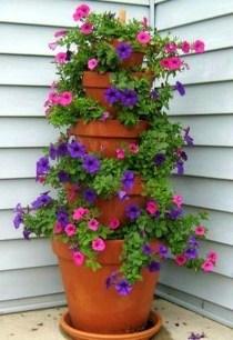 Creative Front Door Flowers Pot Ideas 38