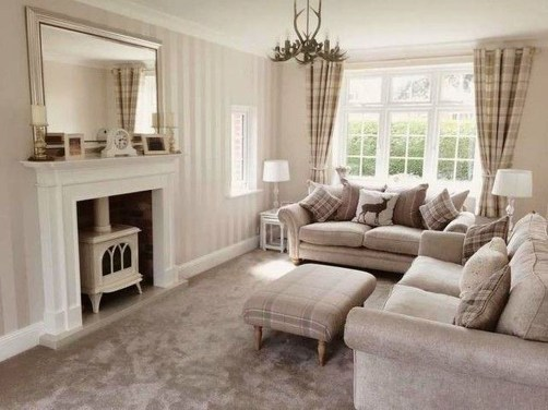 Easy And Simple Neutral Living Room Design Ideas 06