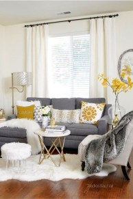 Easy And Simple Neutral Living Room Design Ideas 09