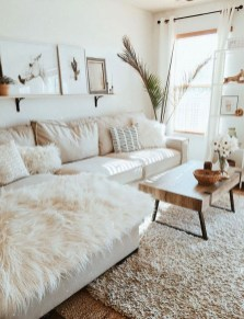 Easy And Simple Neutral Living Room Design Ideas 12