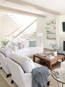 Easy And Simple Neutral Living Room Design Ideas 13