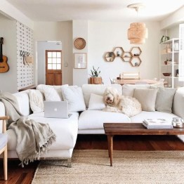 Easy And Simple Neutral Living Room Design Ideas 30