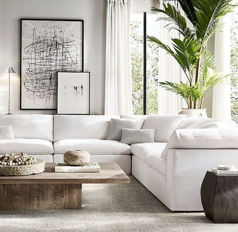 Easy And Simple Neutral Living Room Design Ideas 36