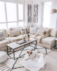Easy And Simple Neutral Living Room Design Ideas 40
