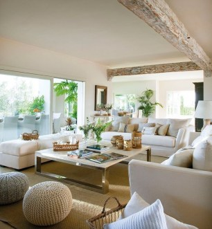 Easy And Simple Neutral Living Room Design Ideas 43
